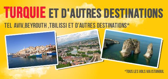 Turquıe Et D'autres Destinations
