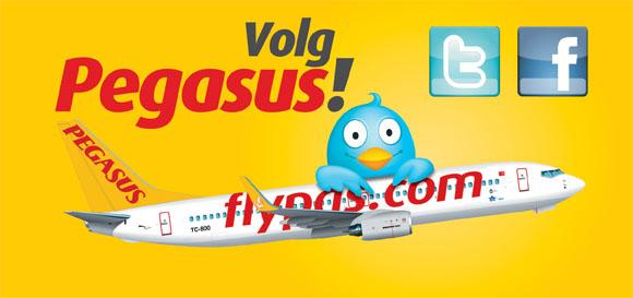 Volg Pegasus!